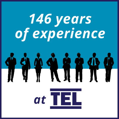 Years of experience at TEL